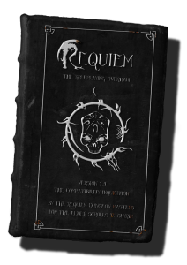 requiem book cover transparency