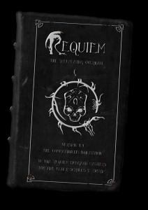 requiem book cover transparency